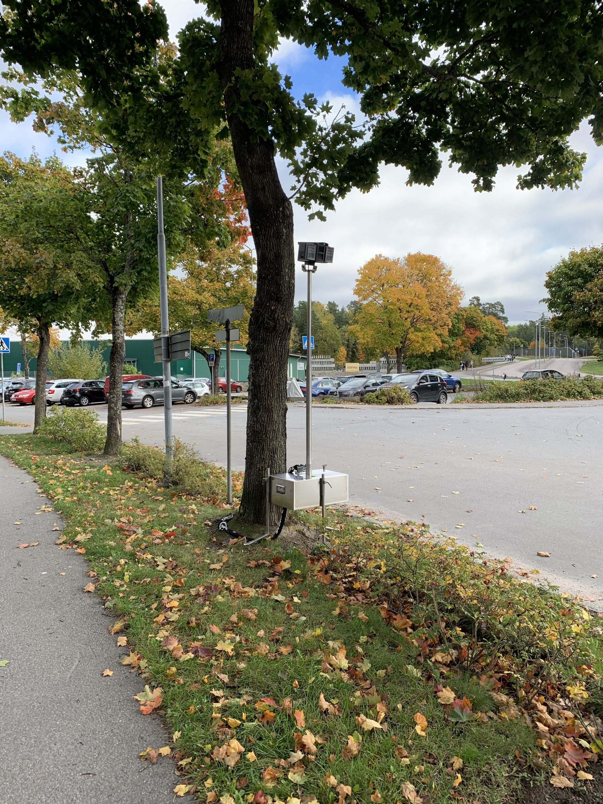 Trafikmätning med genomfartsanalys i Täby Kommun
